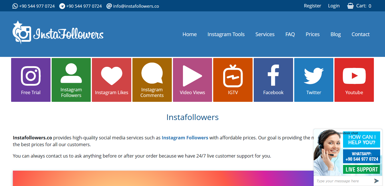 Insta Followers Reviews For Facebook Post Likes Service - #1